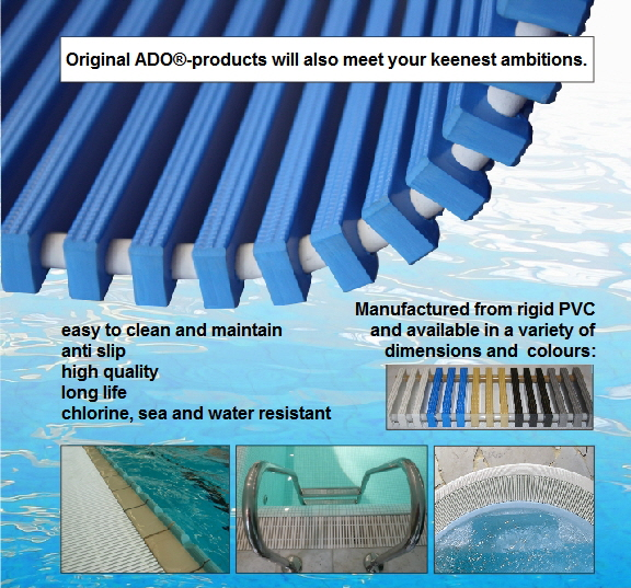 ADO rollable swimming pool grids
